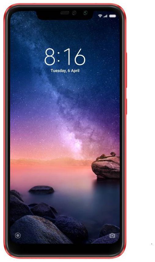 Redmi Note 6 Pro (Red, 64 GB)(4 GB RAM)