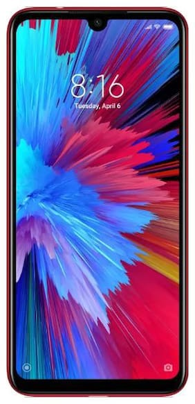 Redmi Note 7S 4 GB 64 GB Ruby Red