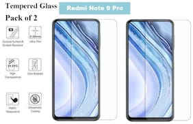 Redmi Note 9 Pro Tempered Glass (Pack of 2)