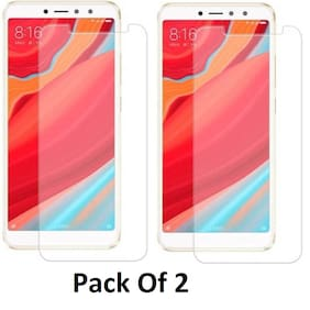 Mobality Tempered Glass For Mi Redmi Y2