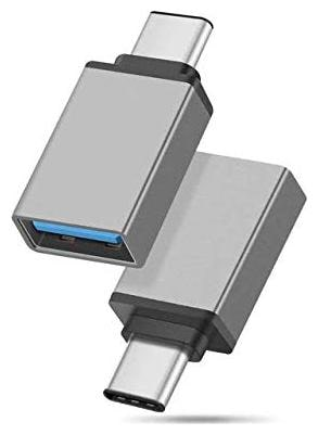 Rednix Metal High Speed USB Type C Adapter;Female USB A to USB C 3.0 Male OTG Adapter/Converter for Laptop;Mobile   Other Compatible C Type Devices;wi
