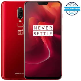 Refurbished Oneplus 6 6 GB 64 GB Amber Red (Grade: Excellent)