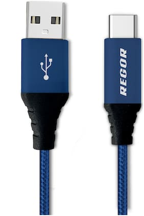 REGOR Data cable - 1-1.5m , Blue