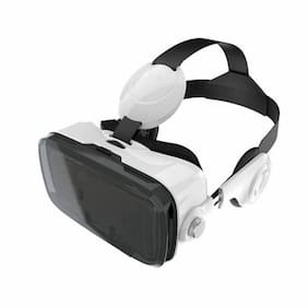 Reiko 3D Virtual Reality Box (VR Box) Glasses For 3.5 To 6 Inch Phones With Blut