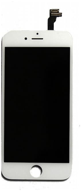 Replacement LCD Display Screen compatible with iPhone 6 Plus : White