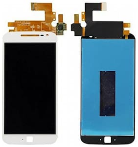 Replacement LCD Display Screen compatible with Moto G4 Plus : White