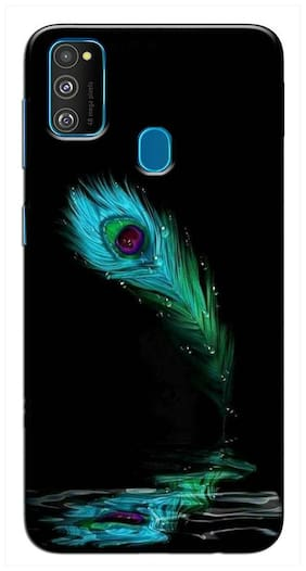 RGN Back Cover for Samsung Galaxy M21 /  Samsung Galaxy M30s Designer | Printed |Transparent |Flexible| Silicon
