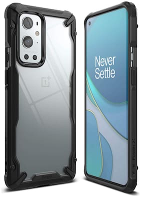OnePlus 9 Pro Polycarbonate Back Cover By Ringke ( Black )