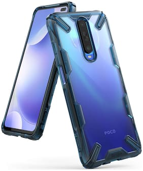 Ringke Back Cover For Poco X2 (Blue)