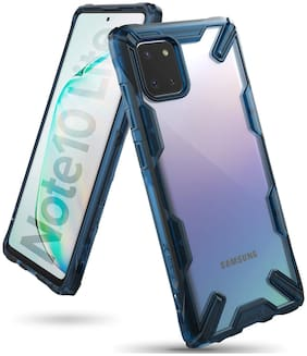 Samsung Galaxy Note 10 Lite Polycarbonate Back Cover By Ringke ( Blue )