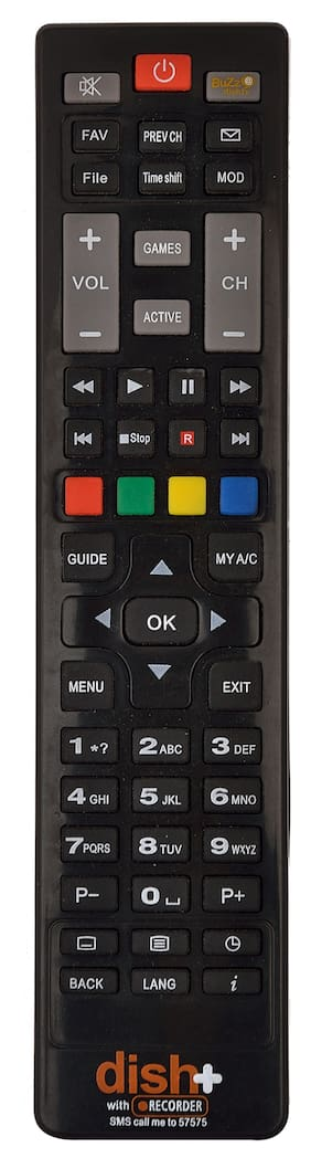 RL Sons.- dishtv Remote Control Compatible with dishtv HD (HighDefinition) Set Top Box