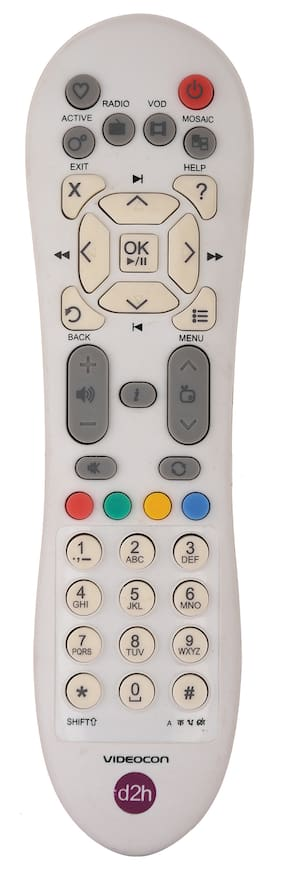 RL Sons.- Videocon d2h Remote Control Compatible with Videocon d2hSD (Standard Definition) Set Top Box