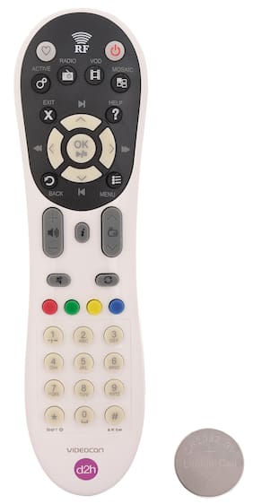 RL Sons.- Videocon d2h RF Remote Control Compatible with Videocon d2h HD (High Definition) Set Top Box