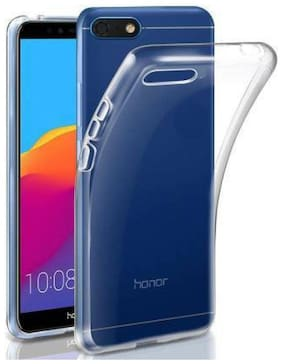 Honor 7X Silicone Back Cover By RM Style ( Transparent )