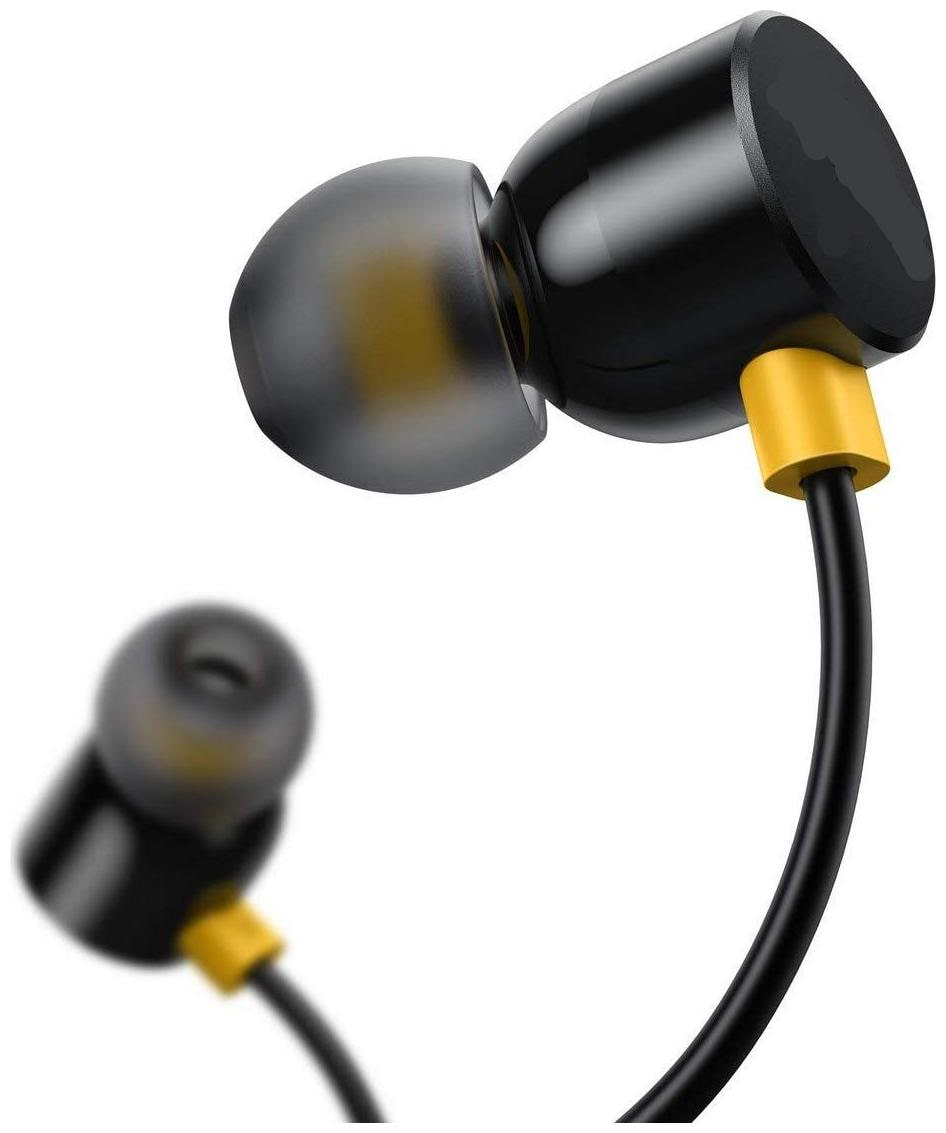 S4 realme 101 In-Ear Wired Headphone ( Black )
