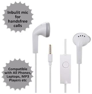 Rockpapa YS-1 In-Ear Wired Headphone ( White )
