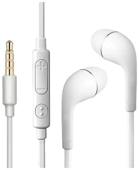 Rockpapa Yr-1 In-ear Wired Headphone ( White )