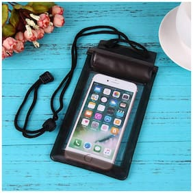 Roeid Three Layers Waterproof Sealed Transparent Mobile Bag Cover