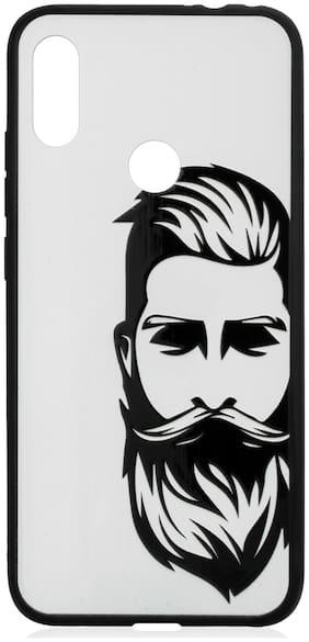 Royal Son Plastic Designer Back Cover For Xiaomi Redmi Note 7 ( White )