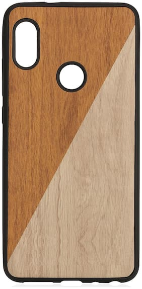 Royal Son Rubber Designer Back Cover For Redmi Note 5 Pro ( Brown )