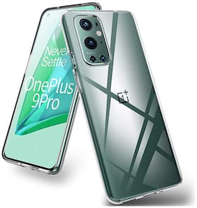 OnePlus 9 Pro Silicone Back Cover By RRTBZ ( Transparent )