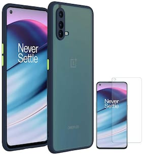 RRTBZ Camera Protection Back Case Cover for OnePlus Nord CE 5G with Screen Guard
