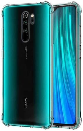 Redmi Note 8 Pro Silicone Back Cover By RRTBZ ( Transparent )