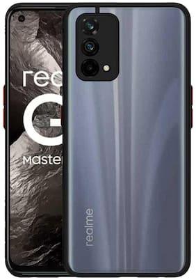 RRTBZ Smoke Camera Protection Back Case Cover for Realme GT Master Edition-Black