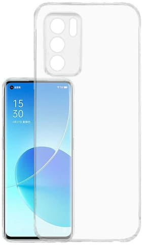RRTBZ Soft TPU Back Cover Compatible for Oppo Reno6 Pro 5G