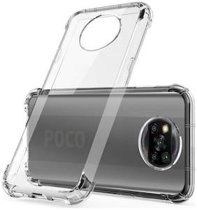 Poco X3 Silicone Back Cover By RRTBZ ( Transparent )