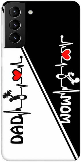Samsung Galaxy S21 Plus Silicone Designer Back Cover By RRVS ( Multi )