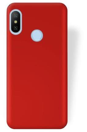Rubberised Matte Hard Case Back Cover For XIAOMI MI A2 / 6X (RED)