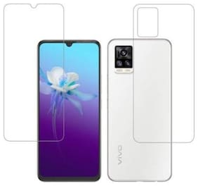 RUNEECH Front and Back Screen Guard for Vivo V20