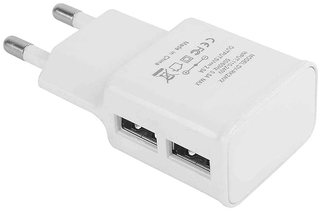 S4 2.1 A Wall Charger   2 USB Ports