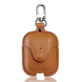 Apple AirPods (2nd Generation) Leather Pouch By S4 ( Assorted )
