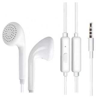 S4 Ultra deep bass In-Ear Wired Headphone ( White )
