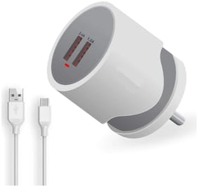 S4 3.1 A Fast Charging Wall Charger - 2 USB Ports