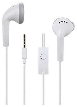 S4 Ultra Bass & Dolby Sound In-Ear Wired Headphone ( White )
