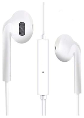 S4 Vivo Wired Earphones Best for Smartphone In-Ear Wired Headphone ( White )