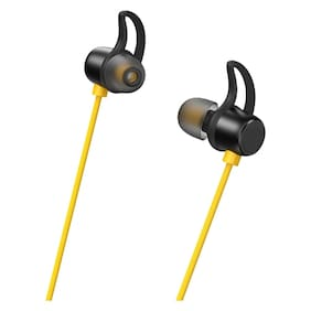 S4 In-Ear Wired Headphone ( Black & Yellow )