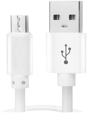 S4 Data & Charging Micro USB Cable ( 3 m , White )