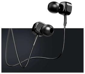 S4 Pure Bass Square In-Ear Wired Headphone ( Black )