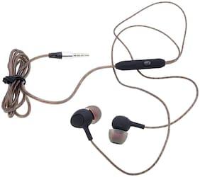 S4 oppof1s In-Ear Wired Headphone ( Black )