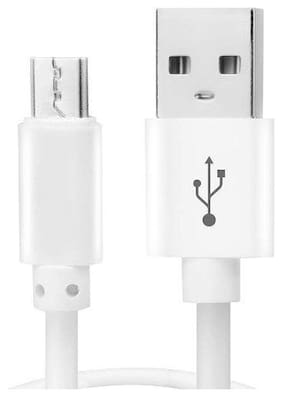 S4 USB Cable Micro USB Data Cable Quick Fast Charging Cable Charger Cable High Speed Transfer Android V8 Cable (White)