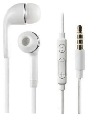 S4 YR Solid Bass and Crystal Sound In-Ear Wired Headphone ( White )
