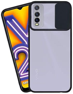 OnePlus 8T Rubber Soft Back Cover By Sabairya ( Black )