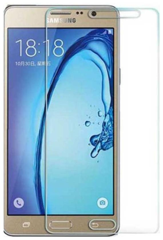 SaiArvs Tempered Glass Guard for Samsung Galaxy On5   Transparent