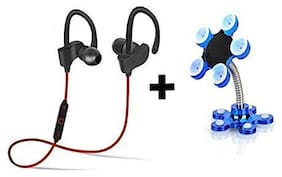 Sami Bluetooth Headsets and Mobile Holder Multi Color