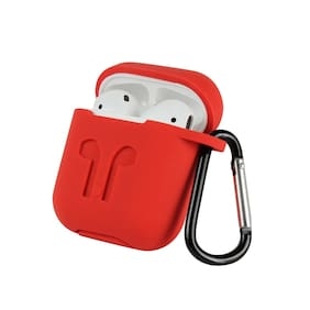 Sami Silicon Airpod Case For Apple Airpods (Red)
