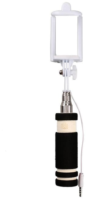 Sami Wired Selfie Stick Without remote For All Smartphones (Assorted)